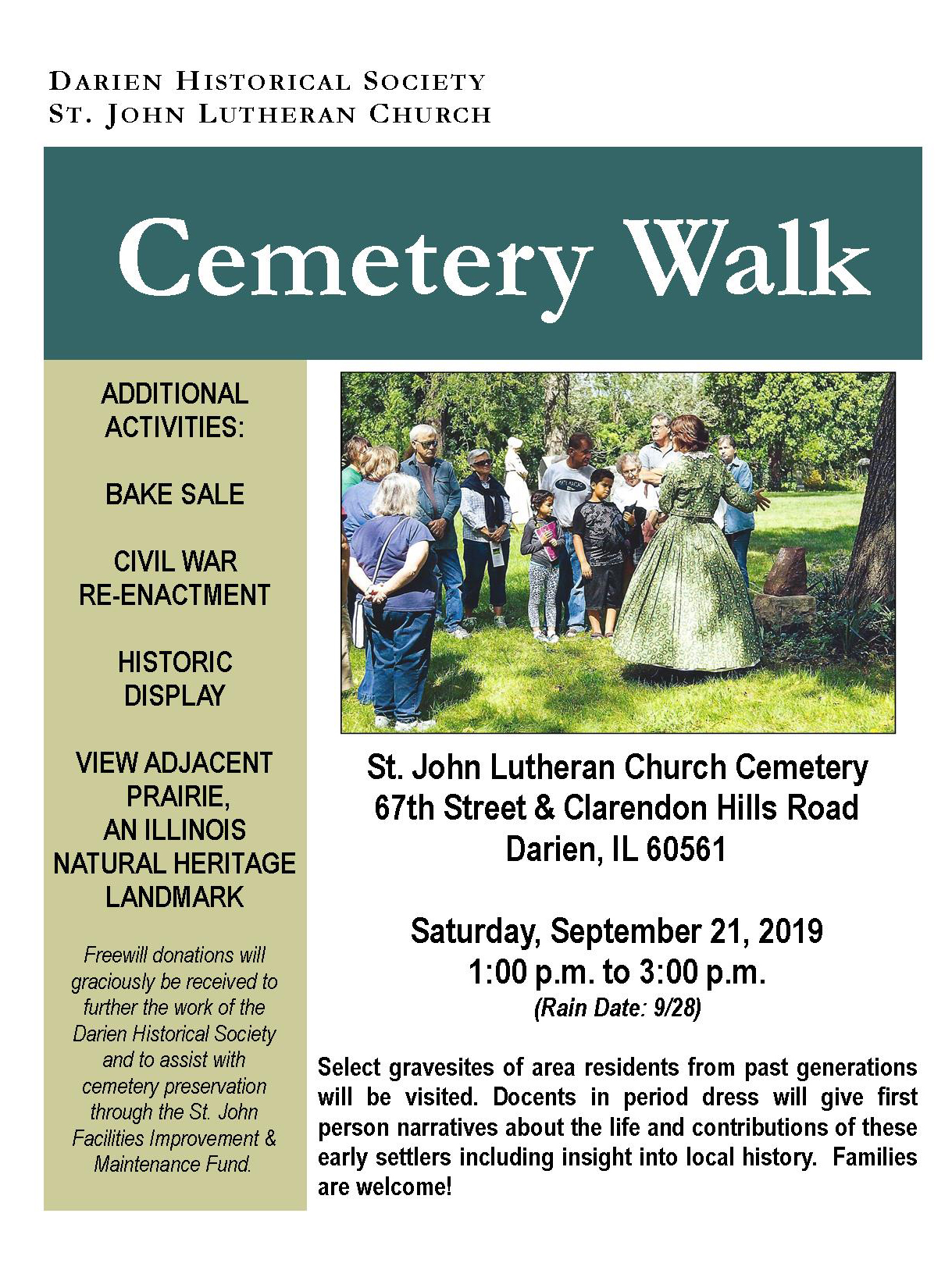 Cemetery Walk Poster 2019